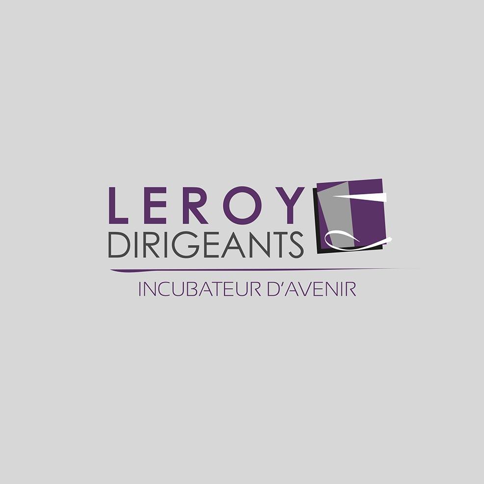 Refonte logo Leroy Dirigeants - Graphistes freelance Hérault Montpellier Bézier Pézenas