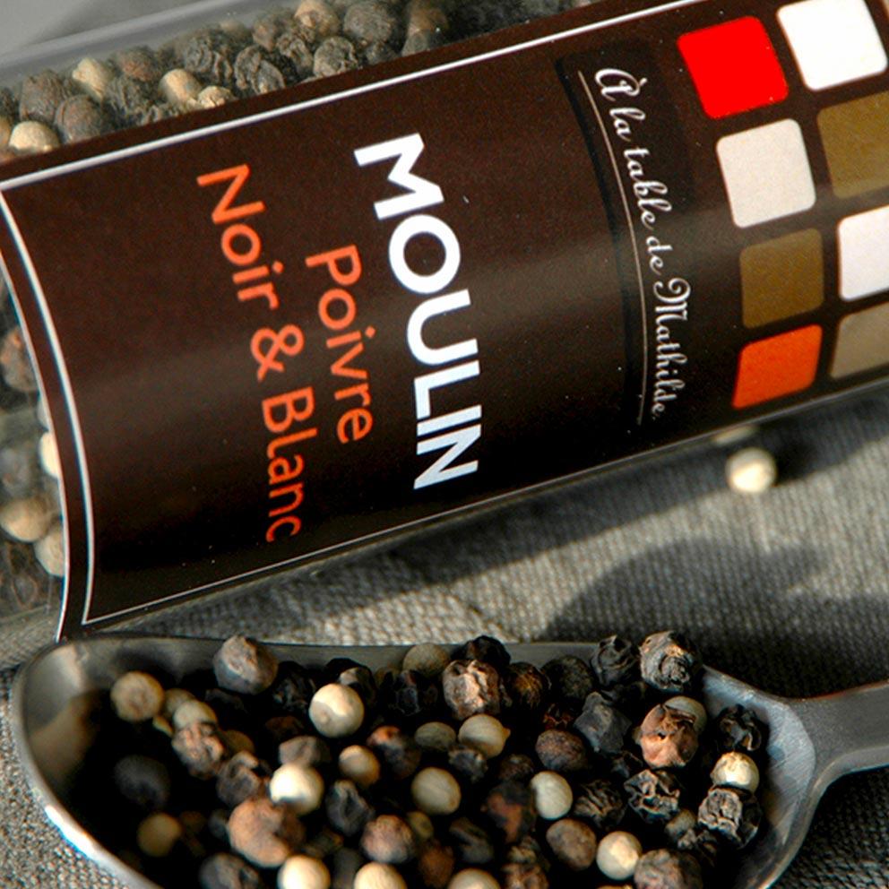 Création design packaging Poivre- Graphistes freelance Hérault Montpellier Bézier Pézenas