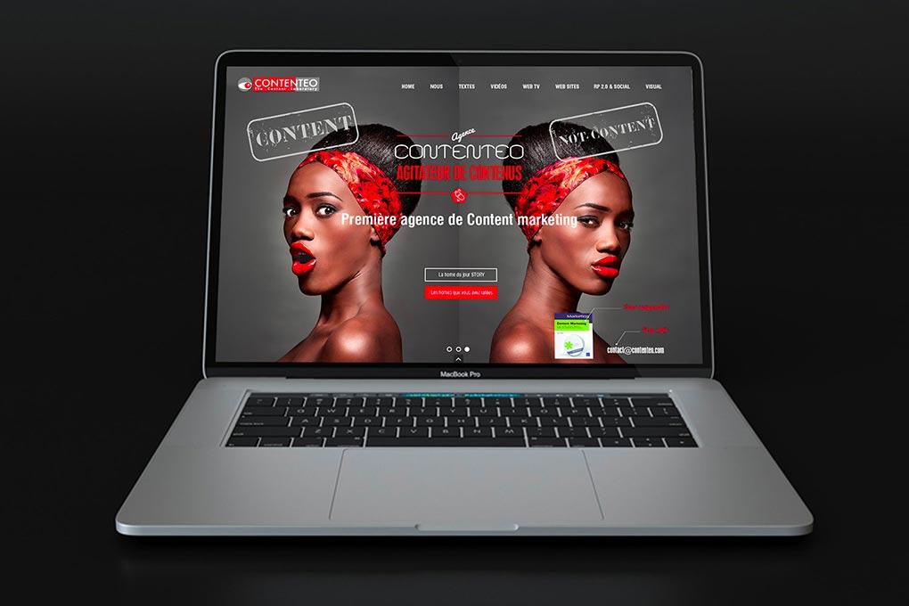 Création webdesign agence de web content - Graphistes freelance Hérault Montpellier Bézier Pézenas
